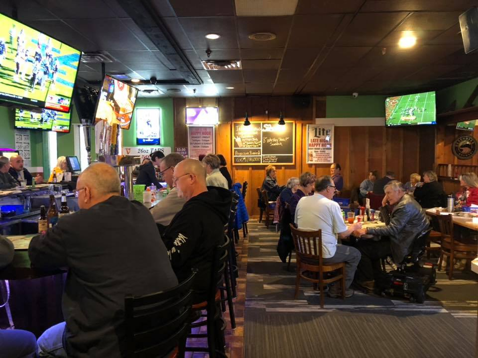 Quinny's Sports Pub and Grill - Just watching the game!